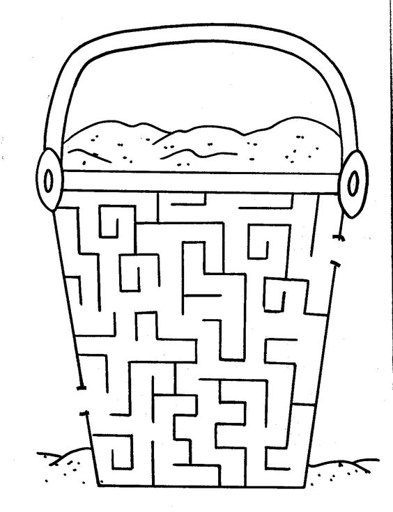Try your hand at our free printable mazes for kids – Maze Worksheets for Kindergarten