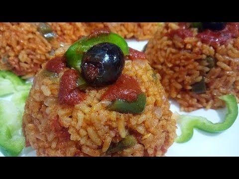 ارز مفلفل بطريقة سريعة وبسيطة للمبتدئات Food Rice Grains