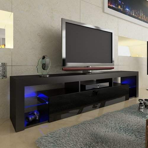 Floating Milano Tv Stand For Tvs Up To 90 In 2020 Wall Mount Tv Stand Floating Tv Stand Black Tv Stand