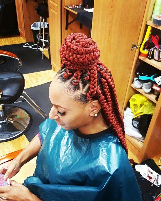 big part box braids - photo #23
