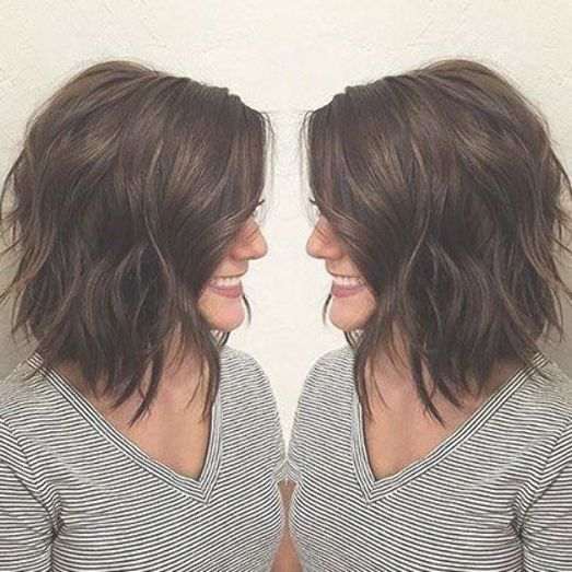 Cute Layered Hair Layered Bob Highlights Women Bobhairstyles With Images Thick Hair Styles