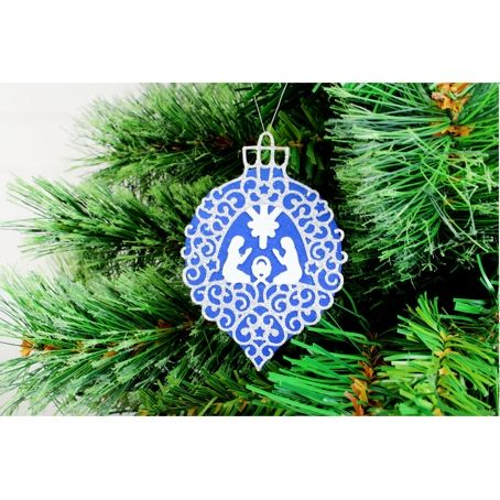 Tattered Lace Nativity Bauble Die Set D1322: