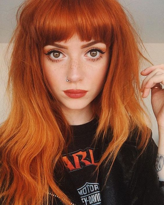 Are You Looking For Ginger Hair Color Styles See Our Collection Full Of Ginger Hair Color Styles And Get Inspired Ginger Hair Dye My Hair Red Orange Hair