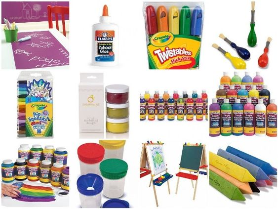 Forget crayons 11 great art materials for toddlers for Waste material art for kids