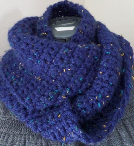 Infinity Scarf  cowl Scarf by Claudine28 on Etsy, $20.00