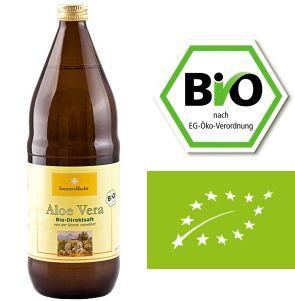 Aloe Vera Bio Saft - 1 Liter - naturscheune.de