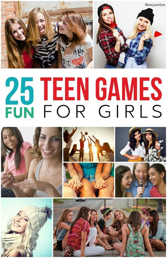 25 Fun Teen Games For Girls: we have compiled a list of 25 games that your teen will love playing with her pals.