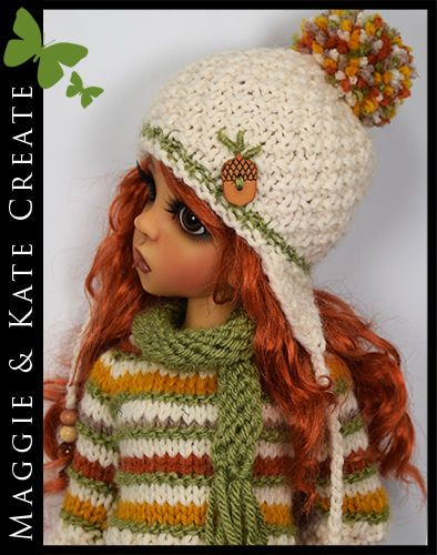 """** FALL ** Outfit Kaye Wiggs 18"""" Layla or Maurice MSD BJD by Maggie & Kate"""