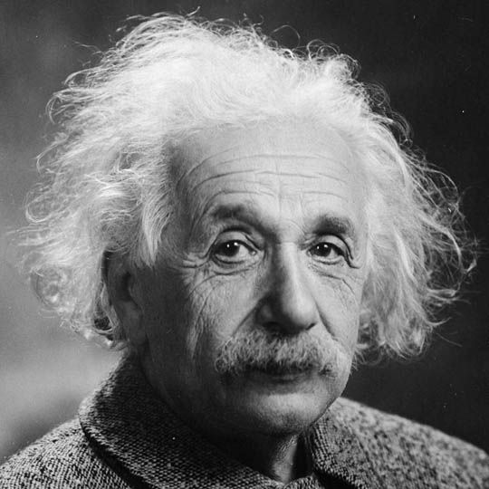 Albert Einstein is Left Handed