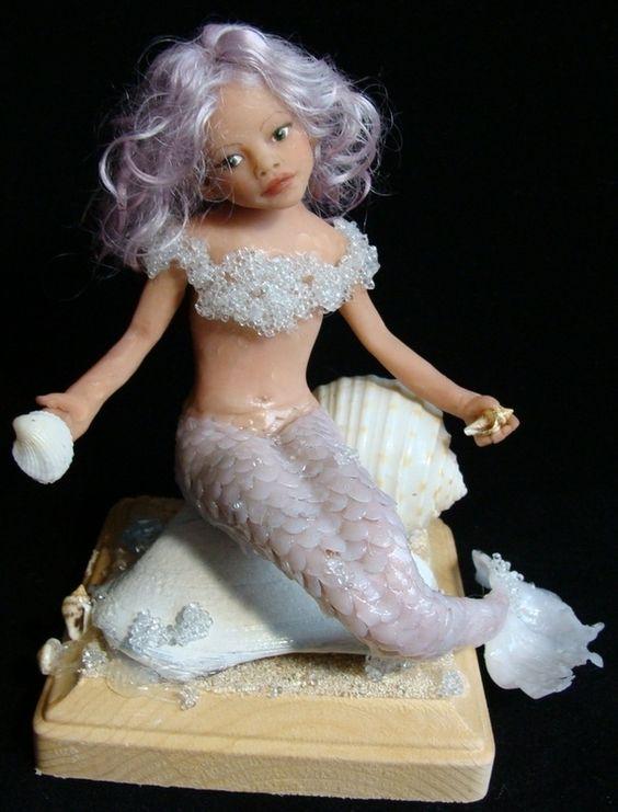 Mermaid in Polymer
