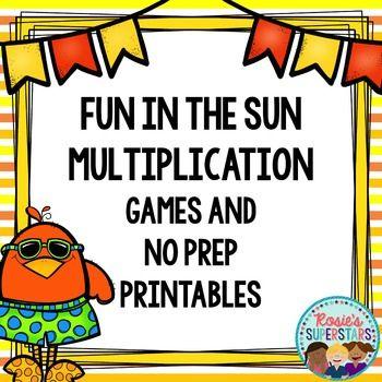 Number Names Worksheets beginning multiplication games : Prática de fluência, Multiplicação and Imprimíveis on Pinterest