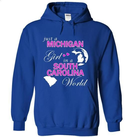 Michigan Girl in a South Carolina World - shirt outfit #tshirt ideas #tshirt makeover