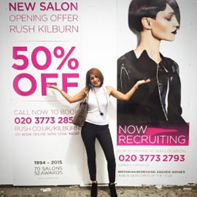 Rush are opening in Kilburn! On Saturday 25 July 2015 we will be opening Rush Kilburn with Rush Stylist and Afro hair specialist, Nita Brainch.