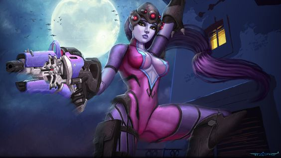 Widowmaker Overwatch by itzaspace.deviantart.com on @DeviantArt - More at https://pinterest.com/supergirlsart/ #fanart