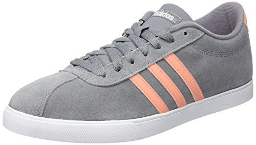 Adidas Courtset W - grey/sunglo/ftwwht, Größe:3.5 - http://on-line-kaufen.de/adidas/3-5-adidas-neo-courtset-w-f99429