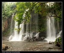 #Waterfalls at phnom kulen #nationalpark - .@Bing images