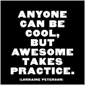 """Peterson: """"Anyone can be cool…"""""""