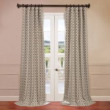 Athena Jacquard Curtain Single Panel