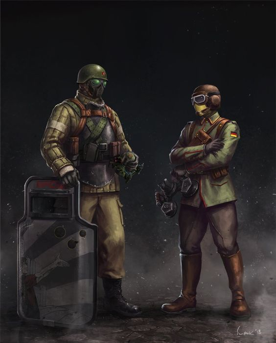 Fuze Vs Jager By Cpt Sunstark On Twitter With Images Rainbow