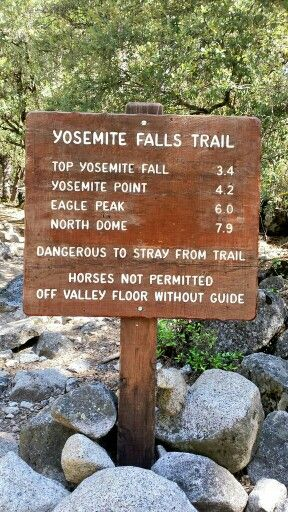 Yosemite Falls Trail, Yosemite National Park