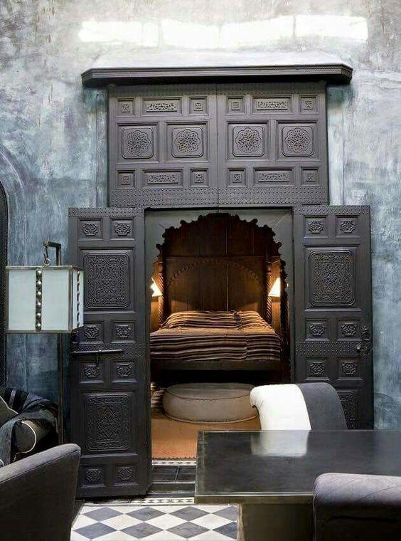 Hidden bedroom: