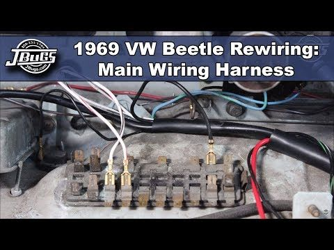 VW Wiring Harnesses for VW Bug, Super Beetle, Karmann Ghia, VW Thing & Type  3. Each VW Wiring Harness includes complete direc… in 2020 | Vw beetles,  Beetle, Vw beetle partsPinterest