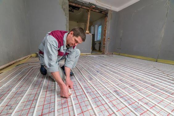 under floor heating