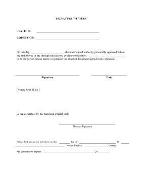A notary official should use this printable legal form to legally ...