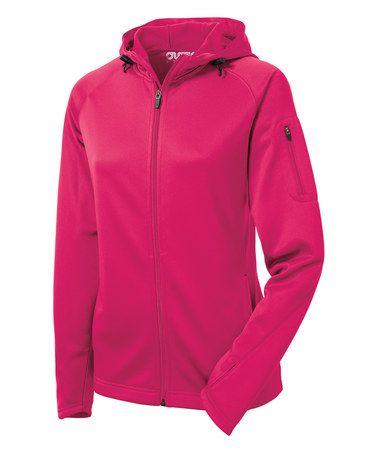 Love this Pink Crosswalk Fleece Jacket - Plus Too on #zulily! #zulilyfinds
