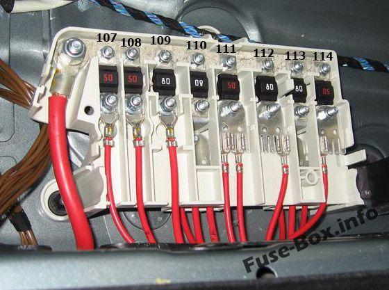 Bmw 5 Series E39 1996 2003 Fuse Box Diagram Fuse Box Bmw 5 Series Bmw