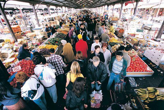 Queen Victoria Market. Melbourne, Australia