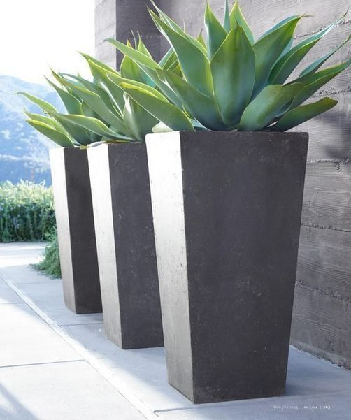 16 Creative Diy Tall Pots Planters Ideas For Modern Garden In