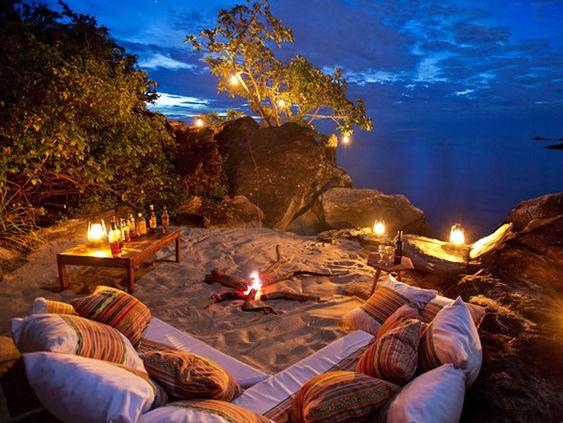 Lakes, Beaches and Romantic night on Pinterest