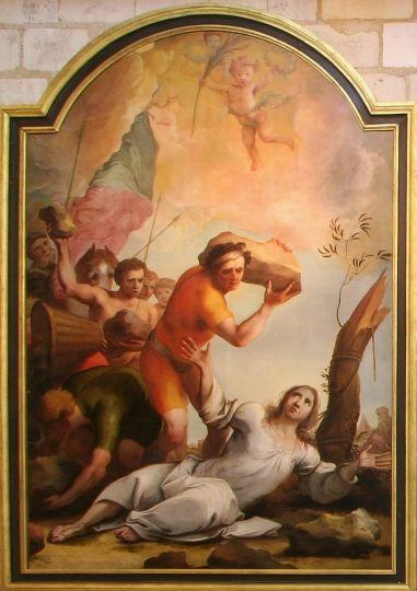 Martyre de saint Etienne - Lubin Baugin
