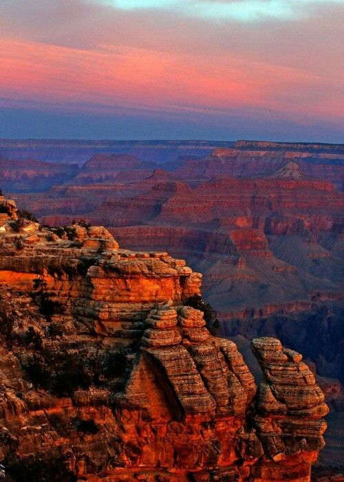 Beautiful, Grand Canyon. It is unreal... A must see! Pictures don't do it justice.: