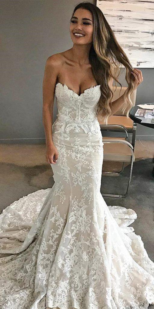21 Sweetheart Mermaid Wedding Dresses