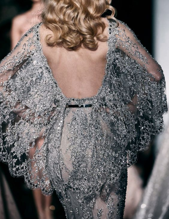 — Back Detail - Zuhair Murad Spring 2015 Couture.