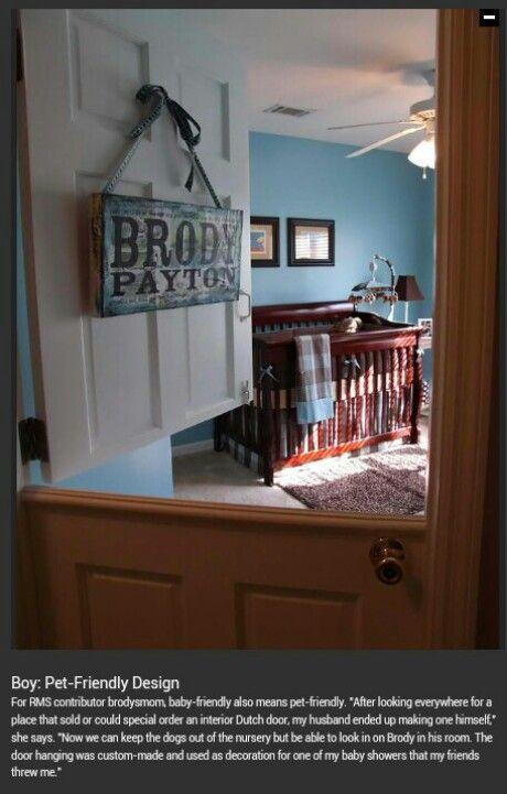 Pet-Friendly Design room door