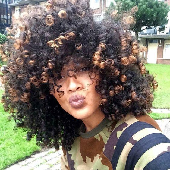 Curls!! @hennalice_ #luvyourmane #blackisbeautiful