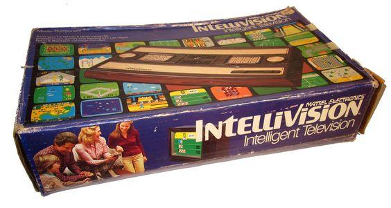Mattel Electronics Intellivision box #gaming #gamer