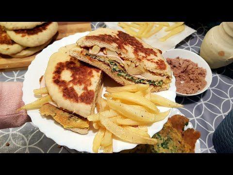 شاباتي تونسي من الاكلات الشعبية التونسية المحبوبة Youtube Chapati Food Breakfast