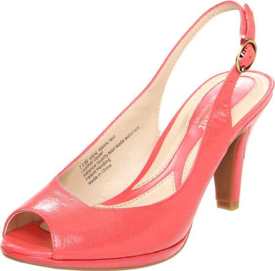Amazon Naturalizer Womens Ideal Slingback Sandal Shoes