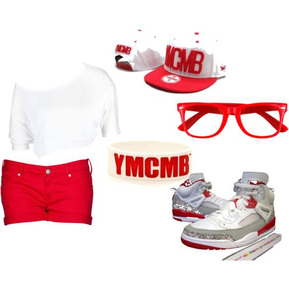 """""""YMCMB SWAGG"""" by mrsx-abrew-mindlessly-taken on Polyvore"""