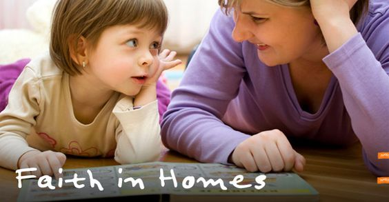 Faith in Homes: a great web site from BRF with lots of ideas and resources for families and those who support them.