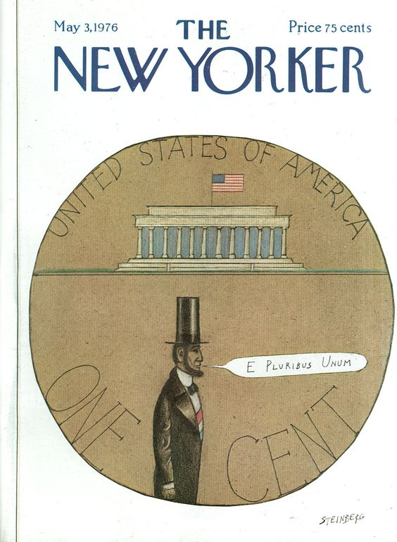 The New Yorker - Monday, May 3, 1976 - Issue # 2672 - Vol. 52 - N° 11 - Cover by : Saul Steinberg