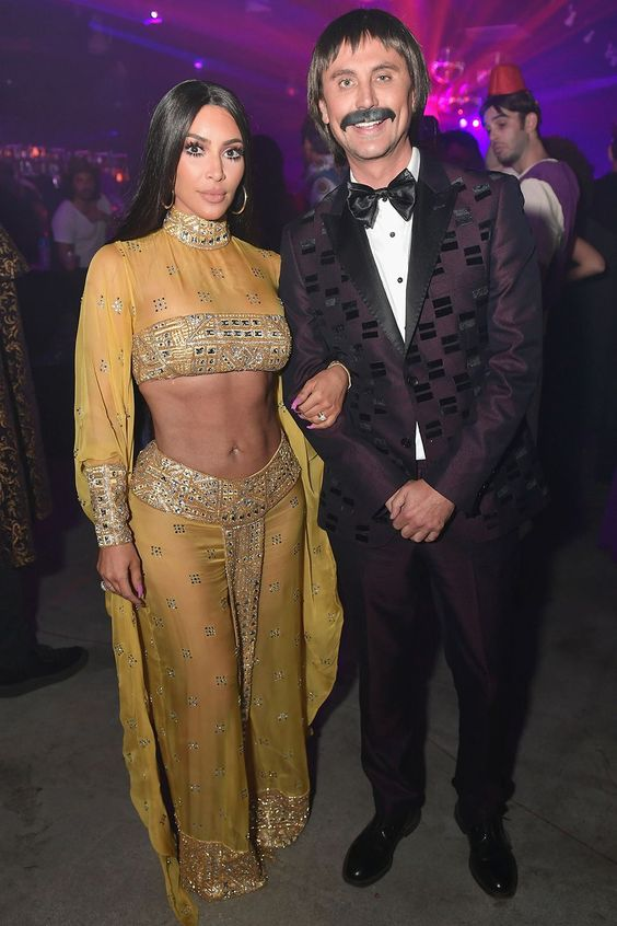 Kim Kardashian and Jonathan Cheban - Sunny and Cher