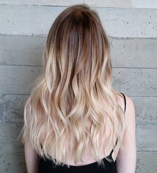 40 Beautiful Blonde Balayage Looks Ombre Hair Blonde Blonde