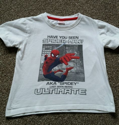 Boys #spiderman #t-shirt/top - age 5 #years,  View more on the LINK: http://www.zeppy.io/product/gb/2/291846200029/