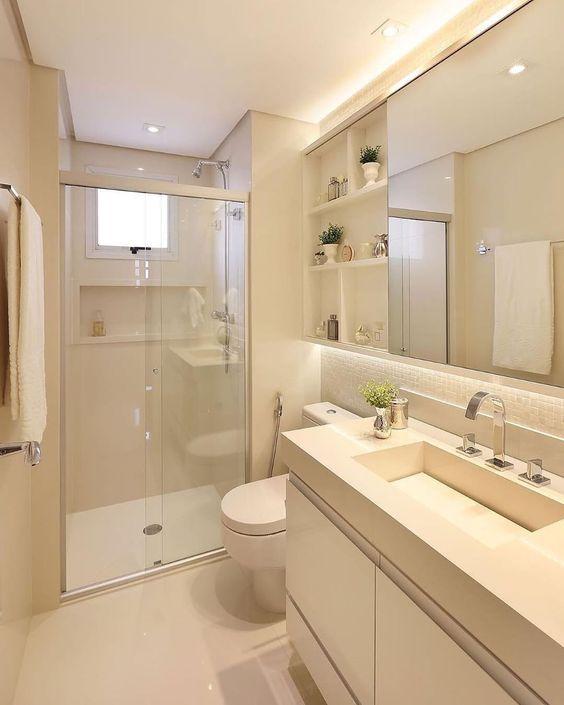 Inspirações e dicas para o banheiro perfeito - Cores e Revestimentos