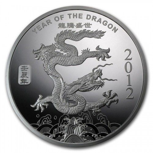 For Sale 1 2 Oz Silver Bullion Year Of The Dragon One Half Troy 999 Very Nice Webstore Silver Bullion Year Of The Dragon Silver Coins